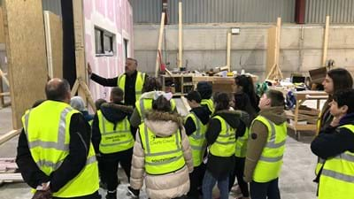 Great Yarmouth pupils enjoy glimpse of future during factory visit.jpg